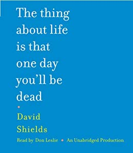 "Cover of ""The Thing About Life Is That On..."
