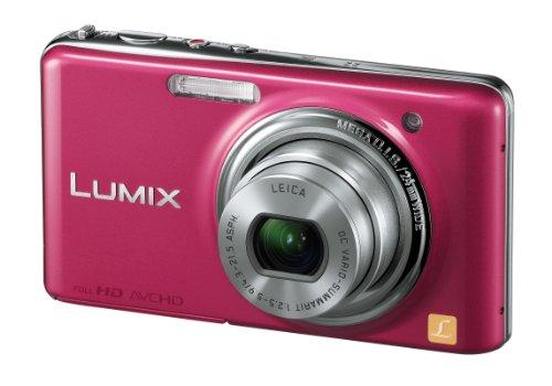 Panasonic デジタルカメラ LUMIX FX77 グラマラスピンク DMC-FX77-P