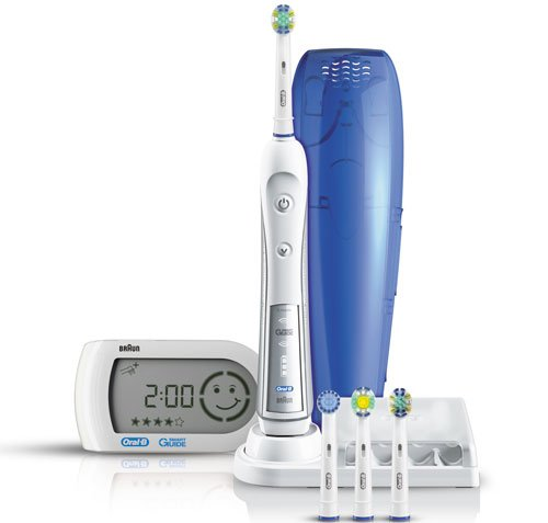 Braun Oral-B Triumph 5000 Elektrische Premium-Zahnbürste mit Smart Guide (Modell 2011)