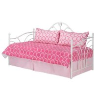 Amazon.com - 4pc Southern Textiles Pink Halo Daybed ...