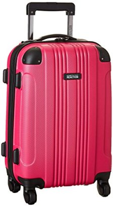 Kenneth-Cole-Reaction-ABS-20-Upright-Carry-on-Luggage-in-Pink