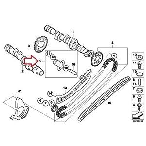 Amazon.com: BMW Genuine Camshaft Gear Timing Chain