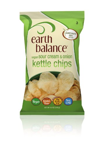 Earth Balance Kettle Chips Sour Cream and Onion Flavored
