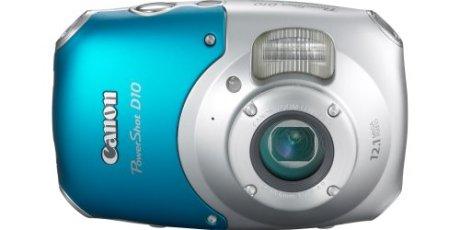 Canon PowerShot D10 12.1 MP Review