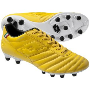check out 35887 3c3bf Lotto Stadio Primato K FG Soccer Shoes (Yellow Yellow Black)
