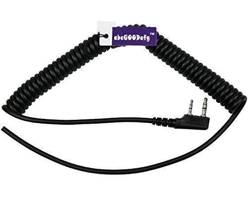abcGoodefg 4 Wire Speaker Mic Cable for Baofeng UV5R