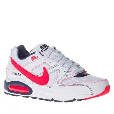 Nike Air Max Command Schuh Weiß Neonrot 43