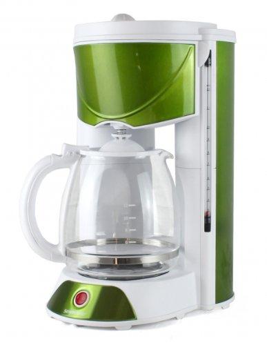 silvercrest kaffeemaschine mit aromawahlschalter gr n test 2012 kaffee. Black Bedroom Furniture Sets. Home Design Ideas