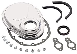 Amazon.com: Mr. Gasket 4590 Chrome Plated Timing Cover