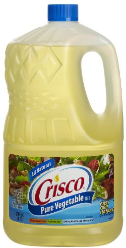 Crisco Pure all Natural Vegetable Oil  128 oz Food