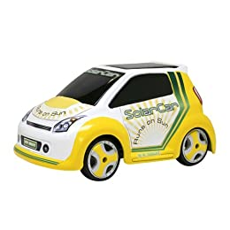 Product Image New Bright 1: 18-Scale Solar Car - Yellow with White