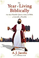 """Cover of """"The Year of Living Biblically: ..."""