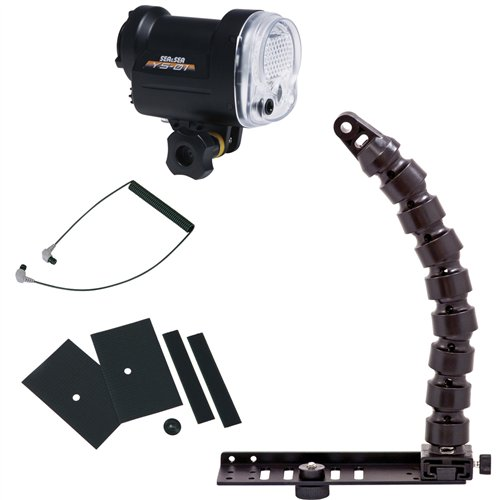 Sea & Sea YS-01 Strobe Lighting Package with Flex Arm & Tray