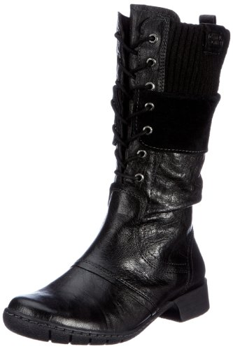camel active Vegas 19 725.19.02, Damen Stiefel, Schwarz (black), EU 39 (UK 6)