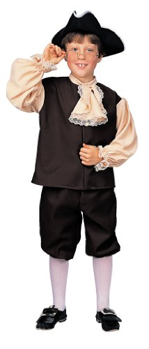 Rubie's Deluxe Child's Colonial Boy Costume, Small