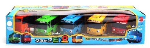 [SET] Tayo The Little Bus ちびっこバス タヨ ミニ 5ピース (タヨ + ロギ + ガニ + ラニ + シツ) [並行輸入品]