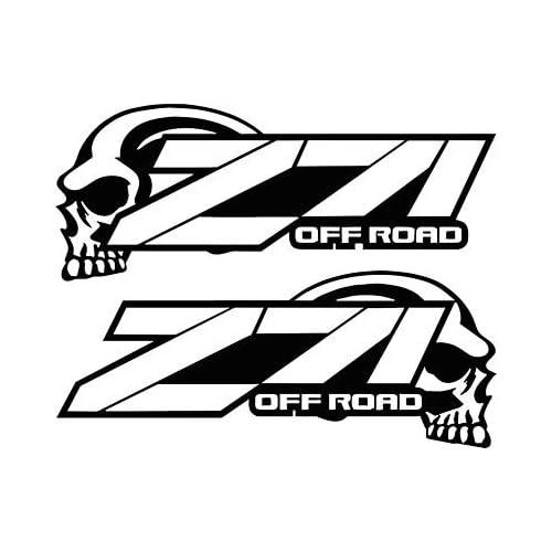 4X4: Z71 4x4 Decals