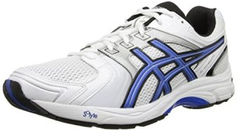 Asics Men's Gel-Tech Walker Neo 4 Walking Shoe,White/Royal/Black,10.5 M US