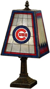 Cubs Table Lamps, Chicago Cubs Table Lamp, Cubs Table Lamp