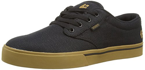 Etnies Men's Jameson 2 Eco Skateboard Shoe, Black/Brown/Green, 12 M US
