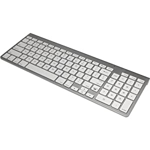 iHome Wireless Bluetooth Keyboard for Mac IMAC-K130 Silver