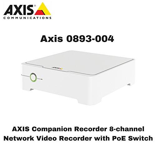 Axis Communications Companion Recorder 8CH 4TB 0893-004