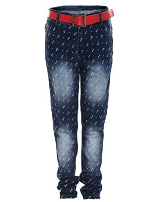 AJ-DEZINES-Big-Boys-Slim-Fit-Jeans-8-9-Years-Light-Blue