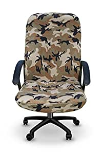 Amazoncom  Camo Office Desk Chair Cover The Chirt