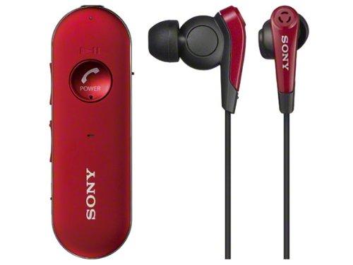 SONY ワイヤレスステレオヘッドセット レッド MDR-EX31BN/R