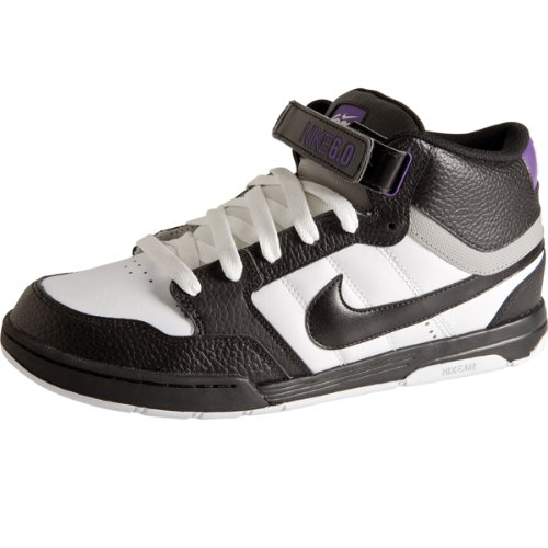 Sneaker Nike 6.0 Air Mogan Mid white/black/varsity purpl 11.0