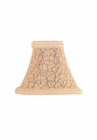 Lite Source CH518-7 7-Inch Lamp Shade, Chenille Cream and ...