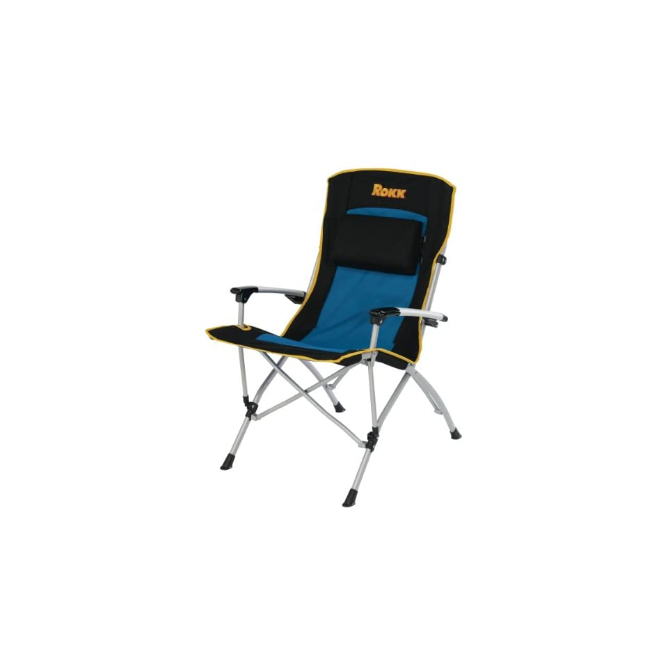 rocky oversized folding arm chair high back chairs with ottoman oversize padded rest and carry bag