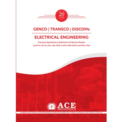 GENCO-TRANSCO-DISCOMs, Electrical Engineering, 20 years of Previous questions with solutions