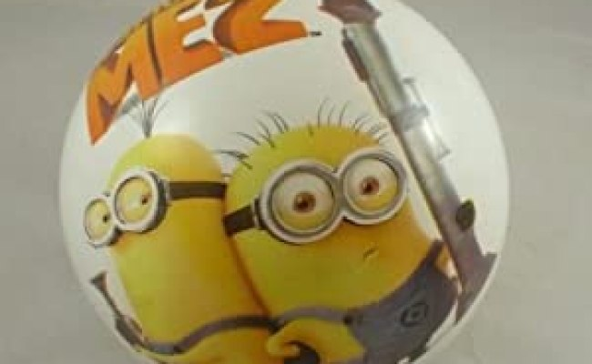 9 Inch Despicable Me 2 Play Ball Minion Design Gru