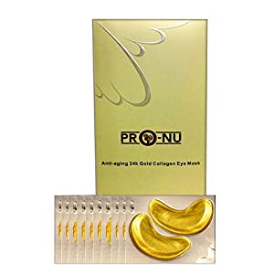 ProNu Anti-Aging 24k Gold Collagen Eye Mask (Pack of 10)