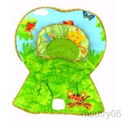 Rainforest High Chair White Office Johannesburg Fisher Price Replacement Cover Pad Cushion Seat