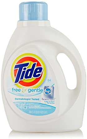 Amazoncom Tide HE Liquid Laundry Detergent Free and