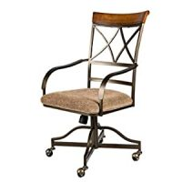 Amazon.com: Hamilton Dining Chair Arm Chair with Casters