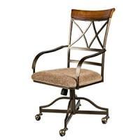Amazon.com: Hamilton Dining Chair Arm Chair with Casters ...