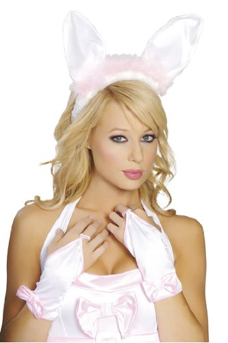 Playboy Bunny Gloves Halloween Costume Accessory Roma