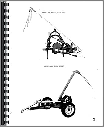 New Holland 456 Sickle Bar Mower Parts Manual: Amazon.com