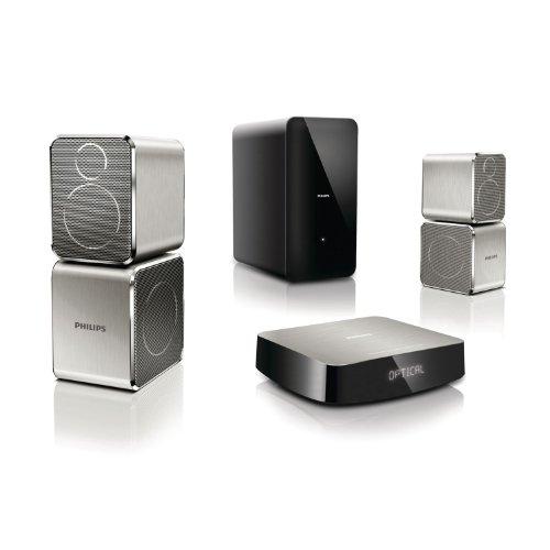 Philips CSS9211/12 2.1 Heimkinosystem (400 Watt, 360Sound, Music iLink)