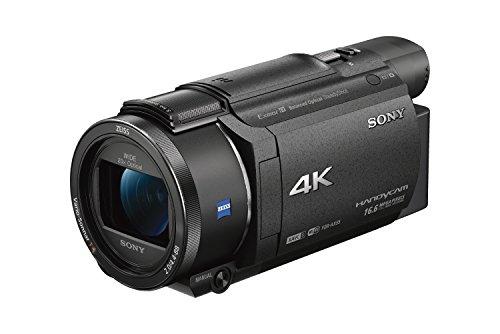 SONY ビデオカメラ FDR-AX55 4K 64GB 光学20倍 ブラック Handycam FDR-AX55 BC