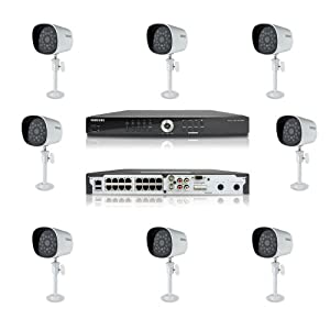 Amazon.com : Samsung Security System SDE-4001 8Channel DVR