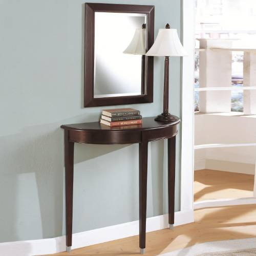 Buy Low Price 3pc Entry Way Console Table Mirror And Lamp