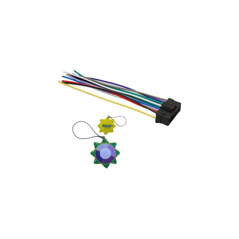 HQRP 16 PIN JVC Car Stereo / Radio / Head Unit Wire Wiring