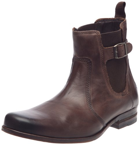 Clarks Goto Sky 203471657, Herren Stiefel, Braun  (Ebony Leather), EU 43  (UK 9)