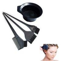 Salon Hair Coloring Dyeing Kit Dye Brush Comb Bowl Tint ...