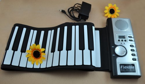 New Soft 61 Key Roll-up Electric Keyboard Piano Flexible Portable promotional gift