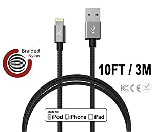 Amazon.com: Volts © 10 ft Lightning Cable to USB [Apple
